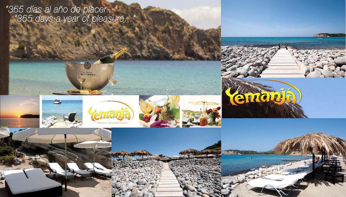 Yemanja Restaurant, Mediterranean Cuisine, Cala Jondal beach