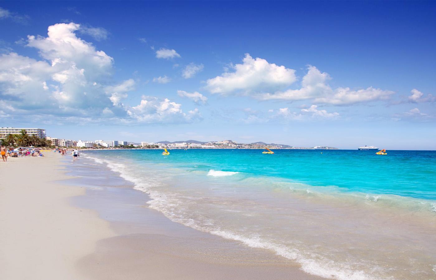 Playa den Bossa | Beaches and calas of Ibiza