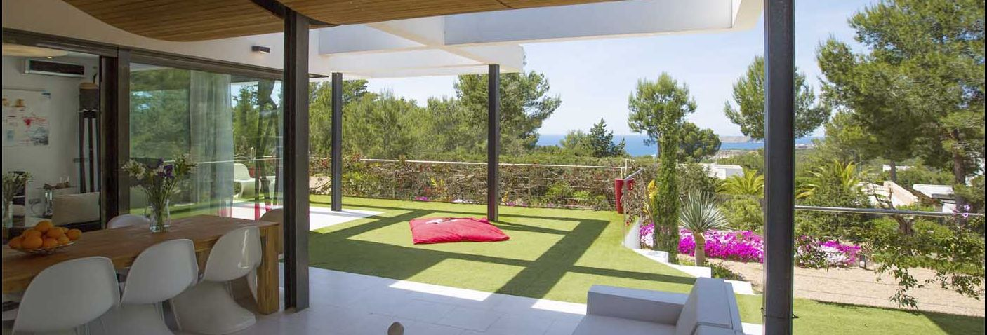 beachside villas in ibiza - CAN SUN