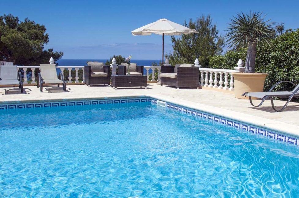 beachside villas in ibiza casa delfin
