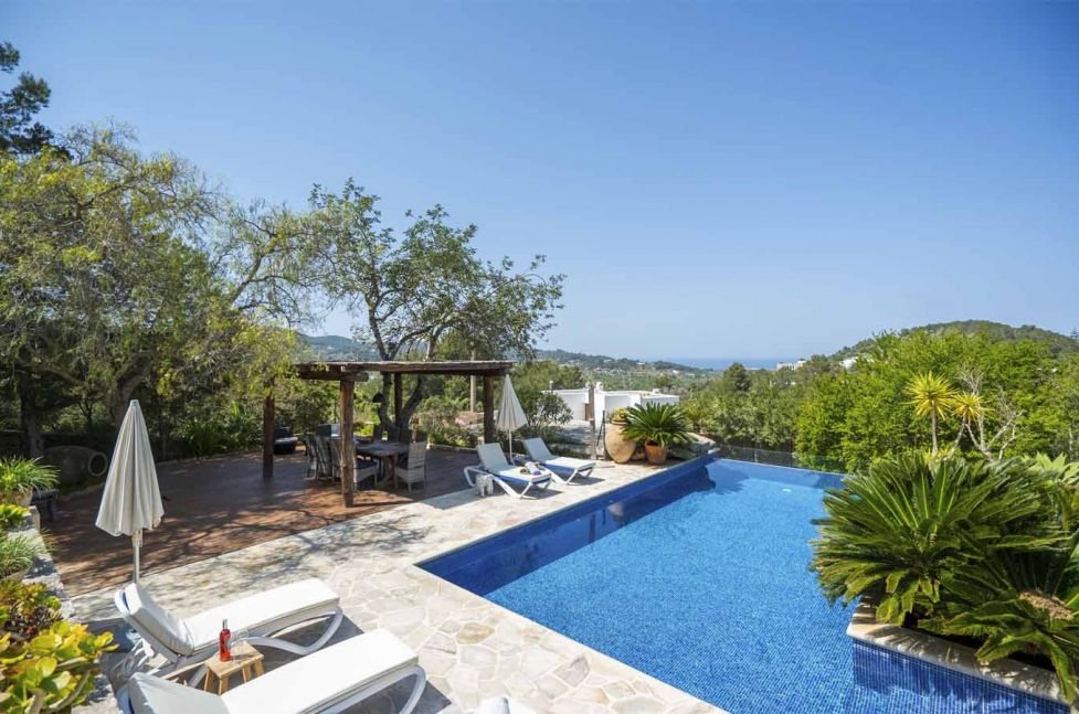 villa rental ibiza - CAN GUERT
